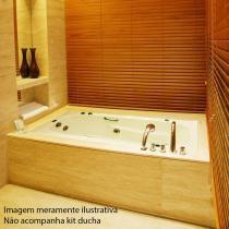Banheira de Hidromassagem Ouro Fino Tulipacril Standard 1,65m x 80cm x 40cm 04 Jatos - Ouro Fino