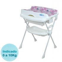 Banheira para Bebê Burigotto Splash - Peixinhos Rosa -