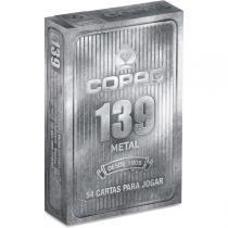 Baralho 139 Metal Naipe Convencional Caixa Meia Dúzia  Tam Bridge Size Naipe Convencional - Copag