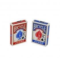 Baralho BICYCLE Jumbo Vermelho e Azul (PAR) - Bicycle
