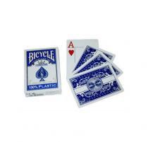 Baralho BICYCLE Prestige Rider Pk 100 Plástico Standard Azul - Bicycle