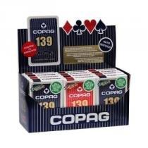 baralho Copag 139 tradicional Cx com 12 (6 pares) - COPAG