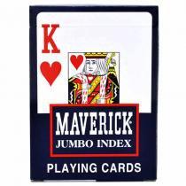 Baralho MAVERICK Jumbo Azul - Maverick