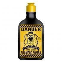 Barba Forte Danger - Shampoo Bomba - 170ml - Barba Forte