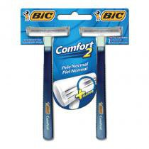 Barbeador bic comfort normal em com 24 - Bic