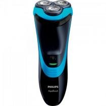 Barbeador sem fio at756/16 bivolt preto/azul philips - Philips