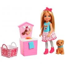 Barbie Barraca de Lanches Pet da Chelsea - Mattel -