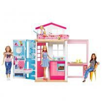 Barbie Casa Real Com Boneca - Mattel - Mattel