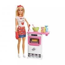 Barbie Cozinhando e Criando Chef de Bolinhos FHP57 - Mattel