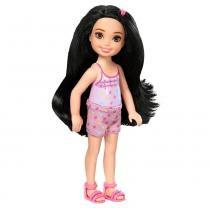 Barbie Familia Chelsea Boneca Morena - Mattel - Mattel