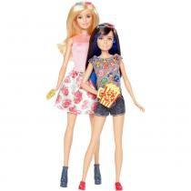 Barbie Família Dupla de Irmãs Morena - Mattel - Mattel