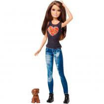 Barbie Family Irmãs com Pets Skipper - Mattel - Barbie