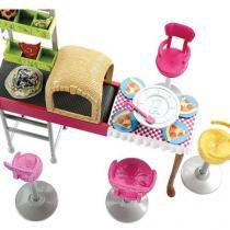 Barbie Family Pizzaria 3 é Demais - Mattel