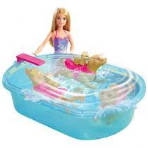 Barbie Filhotinho na Piscina - Mattel