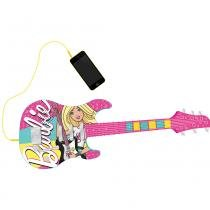 Barbie Guitarra Fabulosa com Função MP3 Player - Intek - Barbie