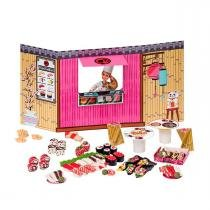 Barbie Massinha de Modelar Food Truck Comidas Japonesas Fun - Fun