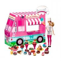 Barbie Massinha de Modelar Food Truck Sorvete e Delícias Fun - Fun
