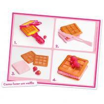 Barbie Massinha Fábrica De Waffles - Fun Divirta-Se - Barbie