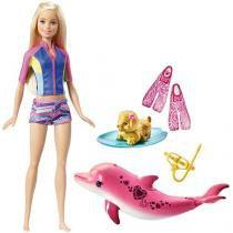 Barbie Mergulhando com Bichinhos com Acessórios - Mattel