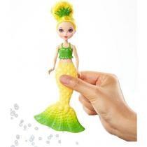 Barbie mini sereias bolhas magicas abacaxi mattel dvm97/dvm99 63529 - Mattel