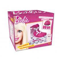 Barbie Patins Ajustável 37 a 40 com Acessórios - Intek - 37 a 40 - Intek