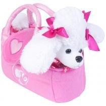 Barbie Pelúcias Na Bolsinha Poodle Branco - Fun Divirta-Se -
