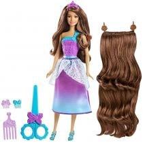 Barbie Princesa Corte Encantado Morena - Mattel - Mattel