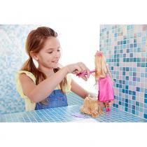 Barbie Princesas Corte Encantado Loira - Mattel - Mattel