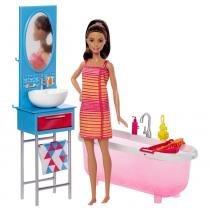 Barbie Real Banheiro com Boneca - Mattel - Mattel