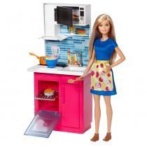 Barbie Real Cozinha com Boneca - Mattel - Mattel