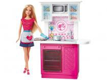 Barbie Real Móvel com Boneca - Cozinha - Mattel