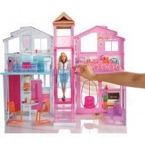 Barbie Real Super Casa 3 Andares - Mattel - Mattel