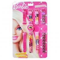 Barbie Relógio Esportivo Troca 4 Pulseiras - Fun Divirta-Se - Barbie