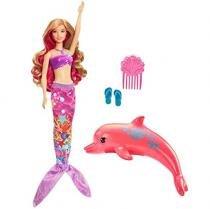 Barbie Sereia Transformação Mágica com Acessórios - Mattel