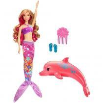 Barbie sereia transformação mágica - fmp58 - mattel -