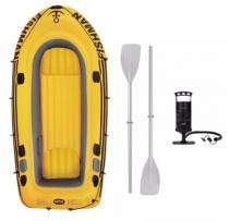 Barco fishman 3,05m com remo e inflador - Mor