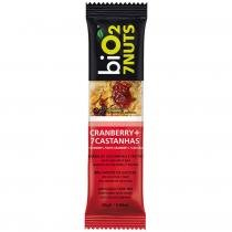 Barra 7Nuts BiO2 com 1 unid Cranberry -