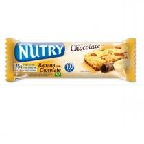Barra cereal nutry banana c/chocolate - Nutrimental