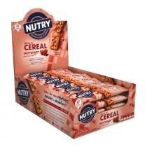 Barra de Cereais Nutry Morango com Chocolate c/24 - Nutrimental -