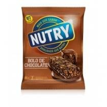 Barra de Cereal Nutry Bolo de Chocolate C/ 3 Unidades - NUTRY