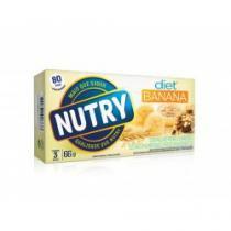 Barra de cereal nutry diet banana c/ 3 unidades -