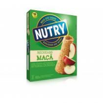Barra de cereal nutry maçã e canela c/ 3 unidades -
