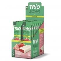 Barra De Cereal Trio Activios com 12 unid Morango com Iogurte -