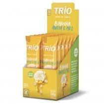 Barra de Cereal Trio com 12 unid Banana, Aveia E Mel -