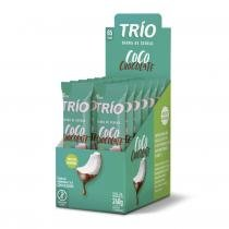 Barra de Cereal Trio com 12 unid Coco Com Chocolate -