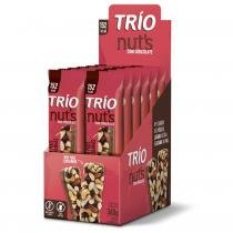 Barra De Cereal Trio Nuts com 12 unid com Chocolate -