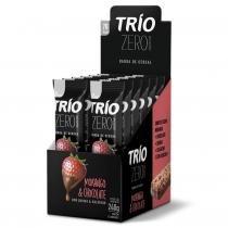 Barra De Cereal Trio Zero Açúcar com 12 unid Morango Com Chocolate -