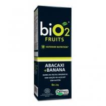 Barra de frutas orgânica bio 2 abacaxi + banana 6 unidades - Bio-2