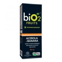 Barra de frutas orgânica bio 2 acerola + banana 6 unidades - Bio-2