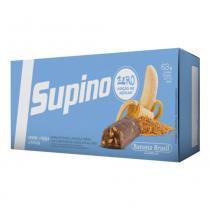 Barra de frutas supino zero banana fibras e linhaça 21g 3 unidades - Banana brasil